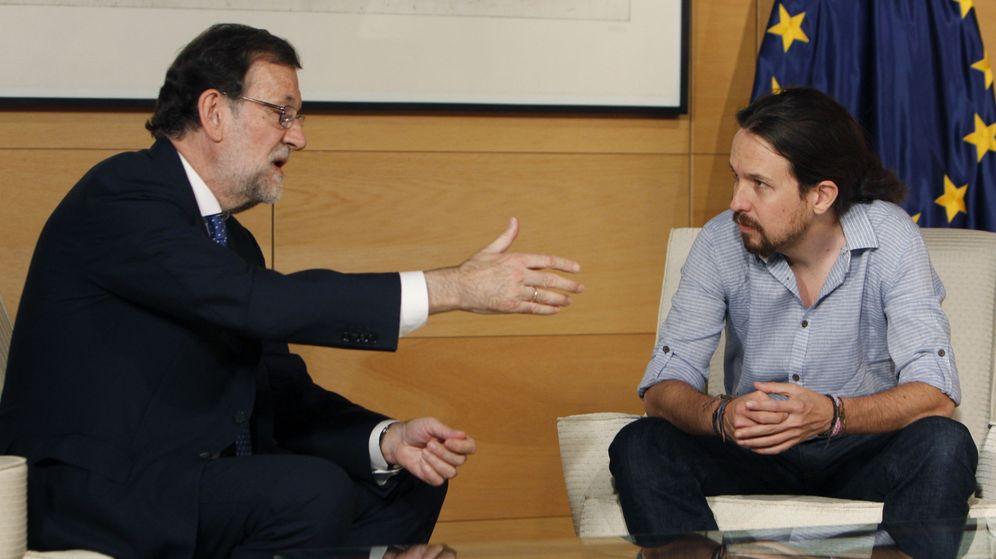 Foto: Mariano Rajoy y Pablo Iglesias, juntos en una foto de archivo. (EFE)