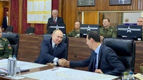 Vladimir Putin viaja por sorpresa a Siria para reunirse con Al-Asad