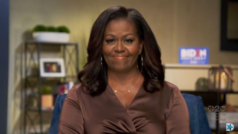 Michelle Obama en la Convención Nacional Demócrata. (EFE)