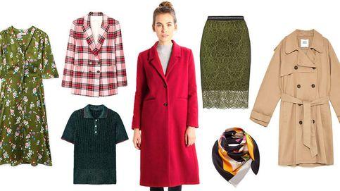 Un abrigo rojo, una falda midi... y otros cinco esenciales que necesitas tener ya