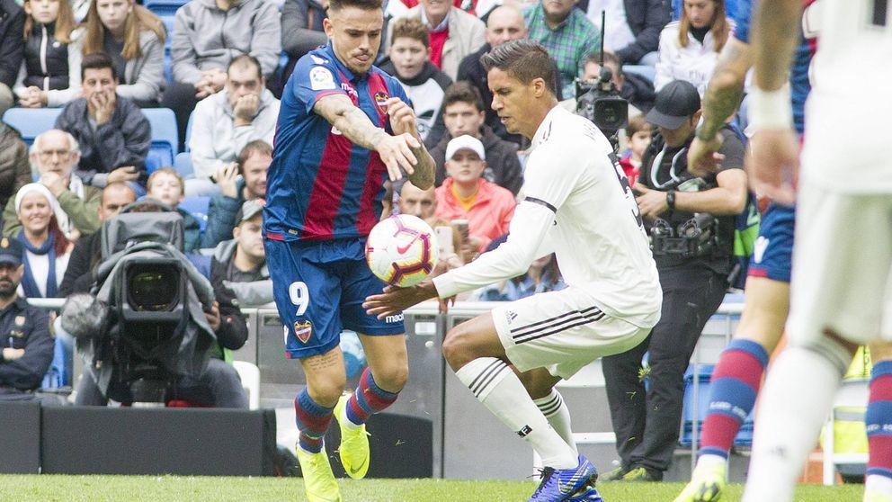 El Madrid no marca goles y Varane y Ramos no hacen nada por evitarlos