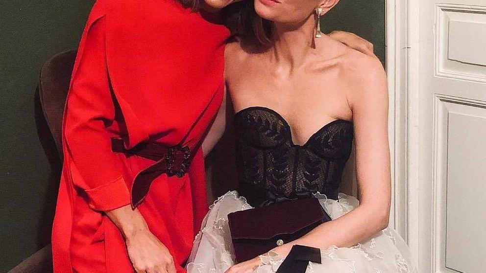 Todos los detalles de los dos vestidos de novia de Alejandra de Rojas