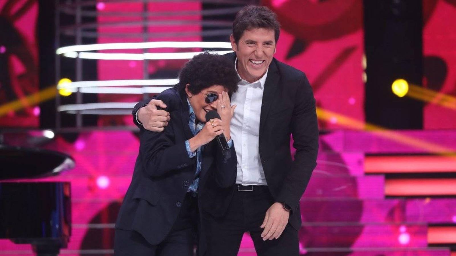 Foto: Angy triunfa con Bruno Mars en 'Tu cara no me suena todavía'. (José Irún)