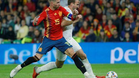 Así recibe Sergio Ramos a sus compañeros de la Selección española