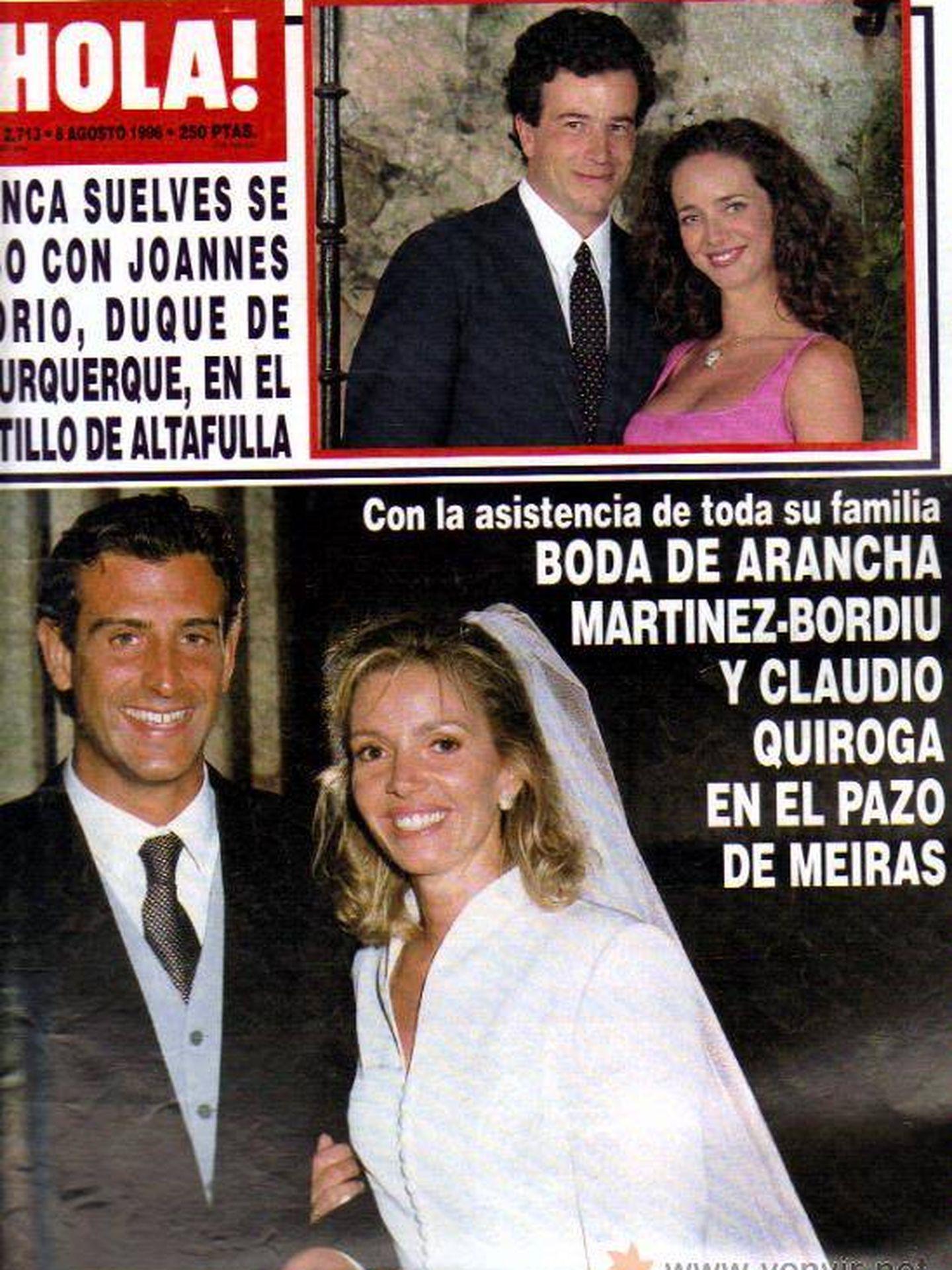 La boda de Arantxa Martínez Bordiú, portada en 'Hola'