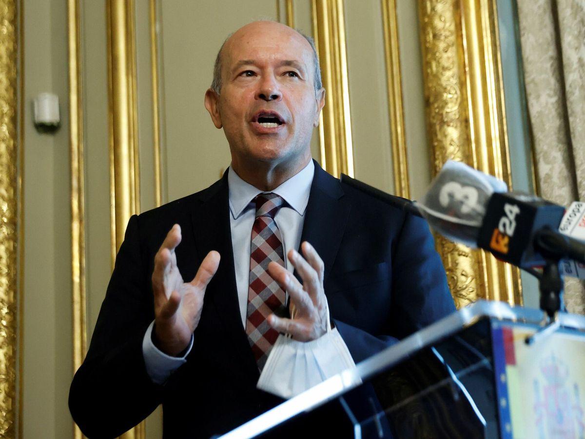 Foto: El exministro de Justicia, Juan Carlos Campo. (EFE)