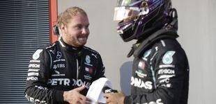 Post de Fórmula 1: Bottas le roba la pole a Hamilton y Sainz se tiene que conformar con ser 10º