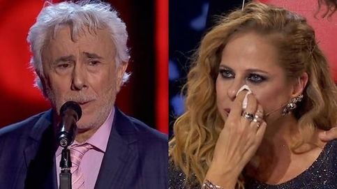 El llanto de Pastora al no reconocer ni girarse por Andrés Caparrós en 'La voz'