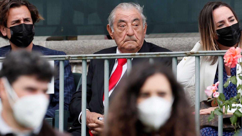 El empresario Juan José Hidalgo asiste a la Copa del Rey de Hípica. (EFE)