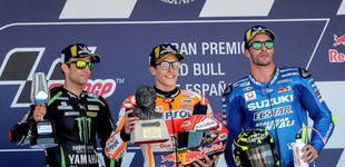 Post de Márquez gana un GP de España marcado por el accidente de Pedrosa, Lorenzo y Dovi