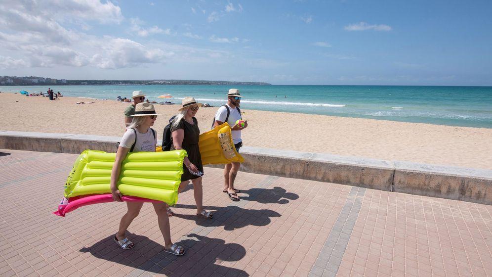 Foto: Turistas alemanes en Mallorca. (EFE)