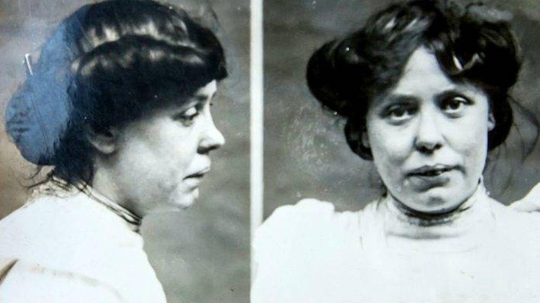 Annie Laurie, detenida por regentar un burdel. (Swns.com)