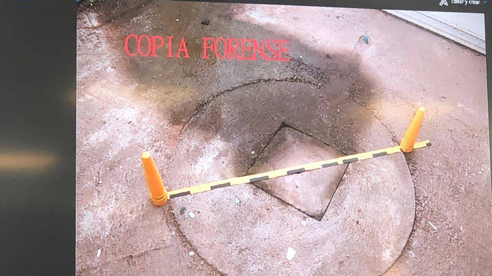 Foto: Imagen del pozo donde supuestamente el Chicle arrojó el cuerpo de Diana Quer.