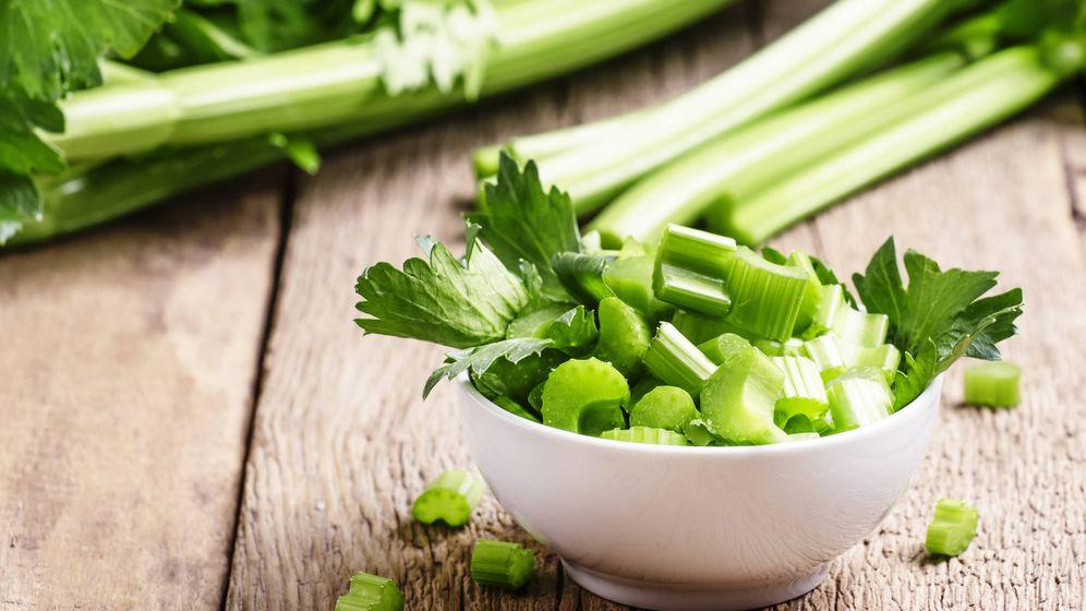 Foto: El apio es el alimento más próximo a las calorías negativas. (iStock)