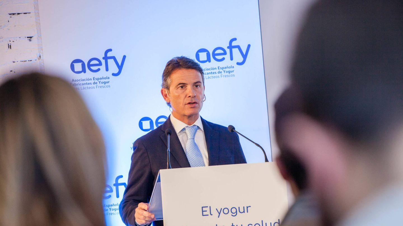 Antoni Bandrés, presidente de AEFY y director de Gestión de Leche de Danone Iberia. (Jorge Álvaro)