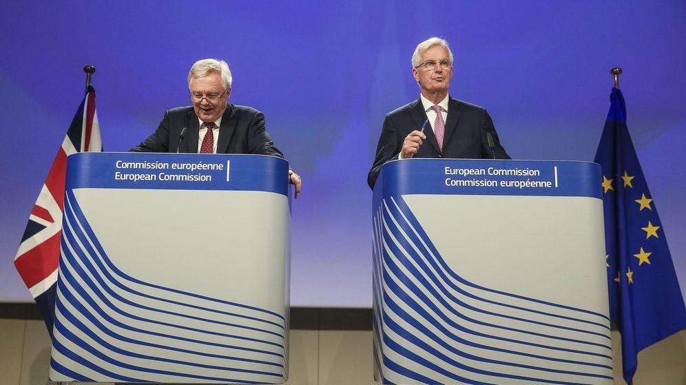 Foto: Segunda ronda de negociaciones sobre el Brexit en Bruselas. (EFE)