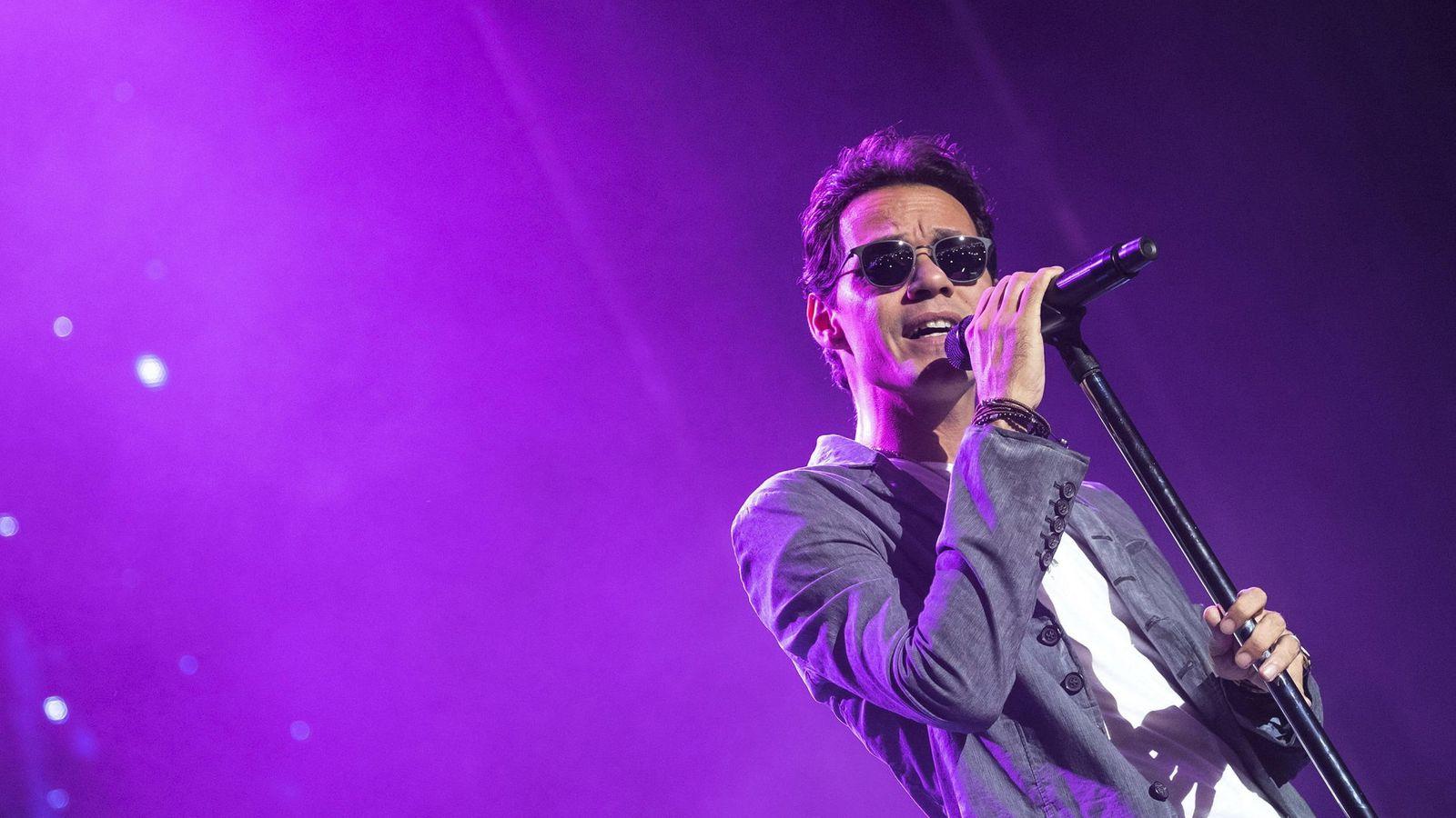Foto: Marc Anthony, durante el concierto que ha ofrecido en Gran Canaria (EFE)