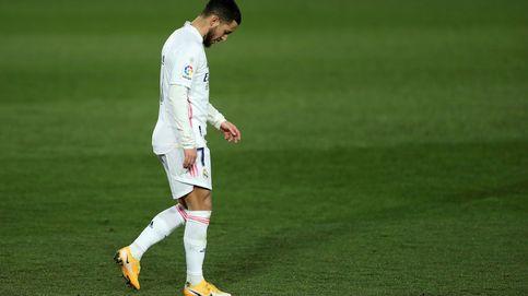 Eden Hazard, a la cabeza de los fichajes fallidos de la historia del Real Madrid