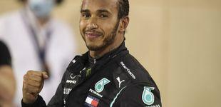Post de F1: Hamilton gana y Sainz es 5º en un GP marcado por el salvaje accidente de Grosjean