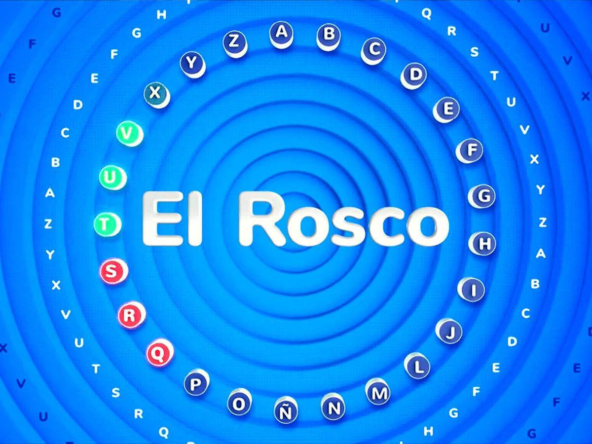 Foto: 'El rosco', la prueba más icónica de 'Pasapalabra'. (Atresmedia)