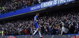 Post de Costa mantiene viva la impresionante racha del Chelsea en la Premier