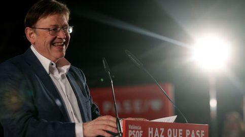 Ximo Puig logra la primera victoria desde 1991 y reeditará el pacto de izquierdas