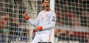 Post de El alivio de Morata o por qué sus goles a Malta son balsámicos