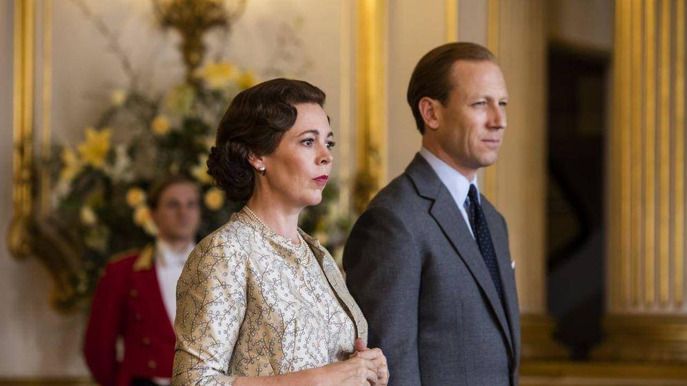 Foto: Olivia Colman y Tobias Menzies, en 'The Crown'. (Netflix)