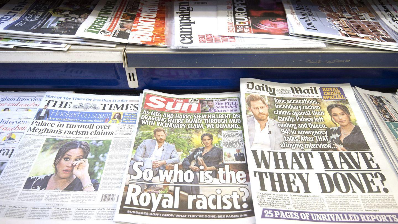Repercusión de la entrevista en la prensa británica. (EFE)