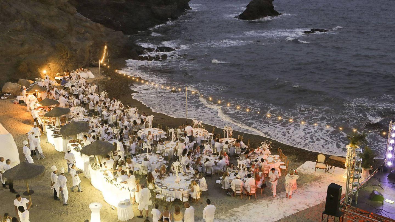 ¿Te imaginas cenar en un sitio así? Y no es una boda... (Cortesía)