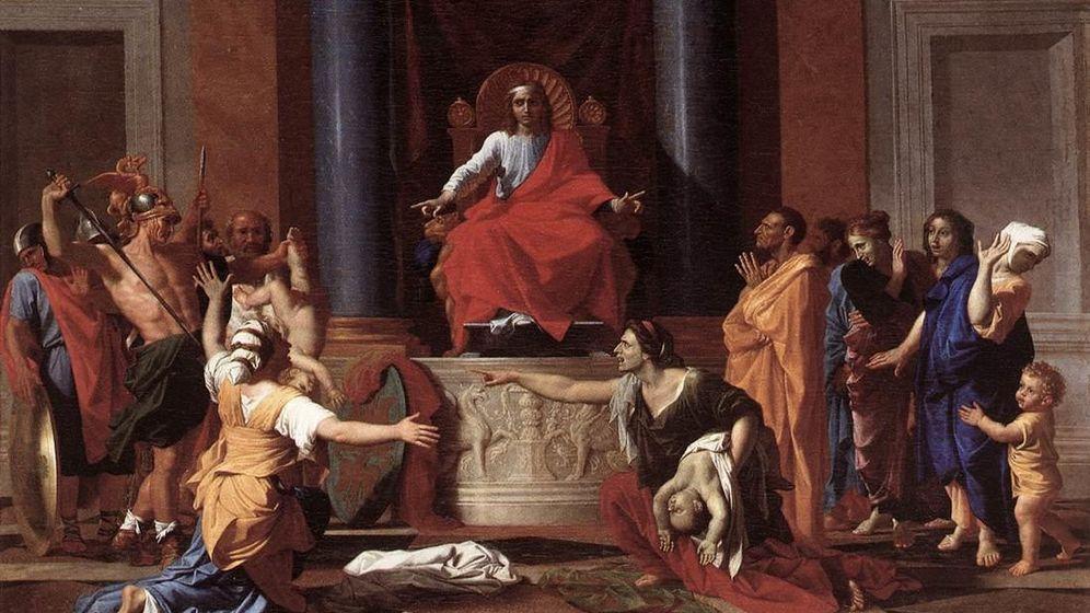 Foto: 'El juicio del rey Salomón', Nicolas Poussin (1649).