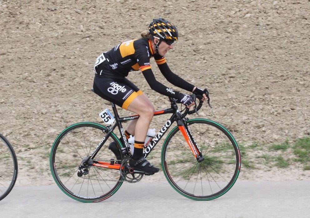 Foto: Anna Sanchis, durante una carrera