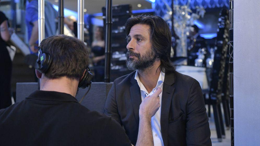 Foto: Hugo Silva, en el rodaje de 'Nasdrovia'. (Globomedia)