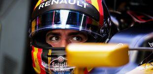 Post de Sainz, entre un gran P8 en parrilla y un desagradable encontronazo con Massa