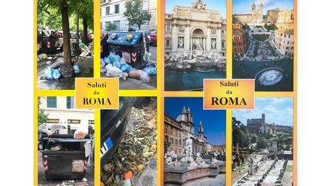 Postales invisibles de Roma: la crisis existencial italiana retratada en su basura