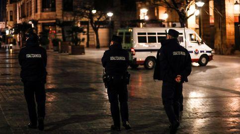 Los altercados nocturnos en San Sebastián dejan tres 'ertzainas' heridos y 10 detenidos