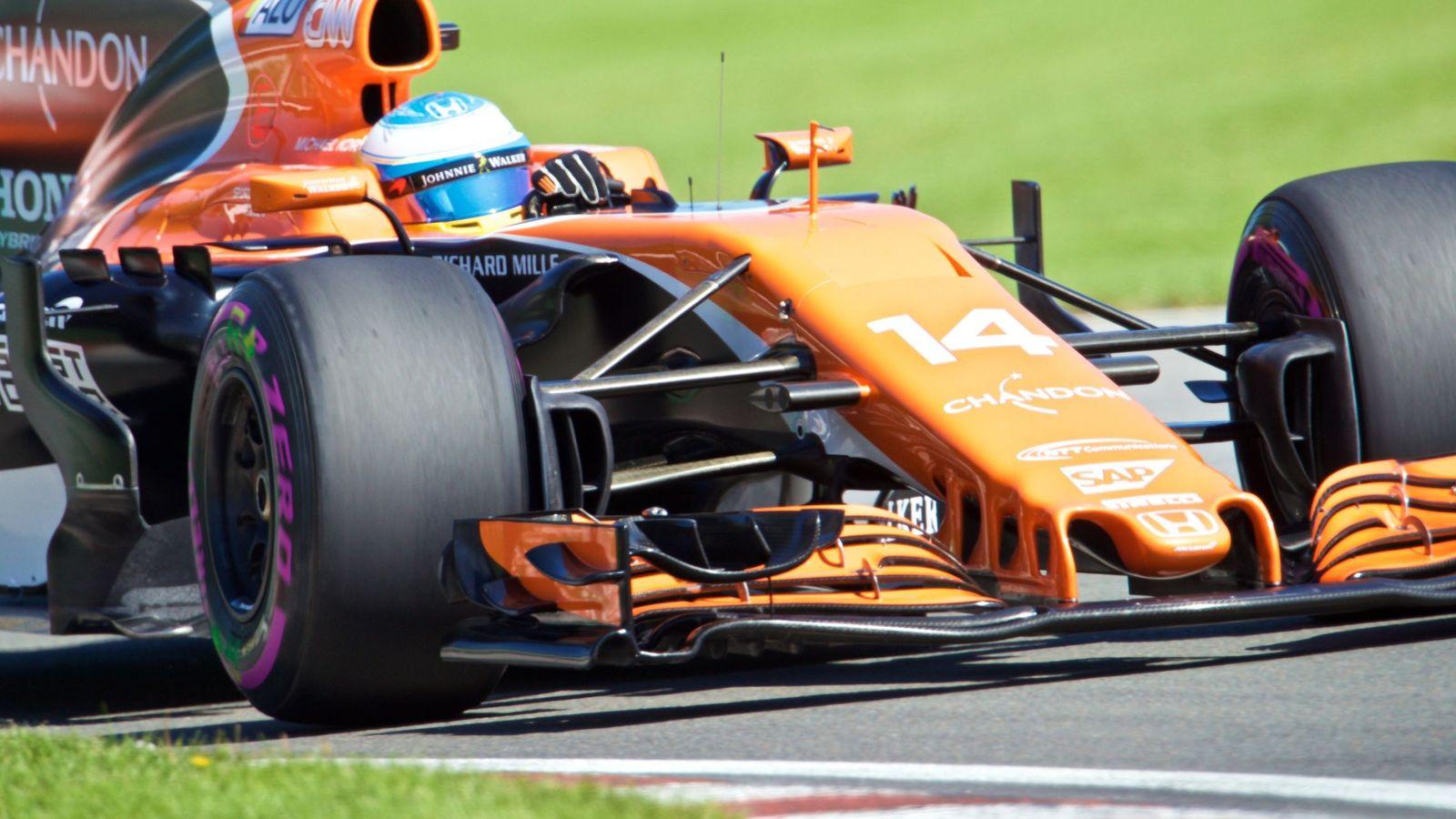 Foto: Fernando Alonso, en el pasado Gran Premio de Canadá. (EFE)