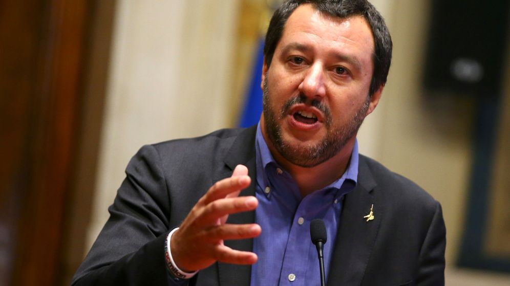 Foto: El ministro de Interior de Italia, Matteo Salvini. (EFE)