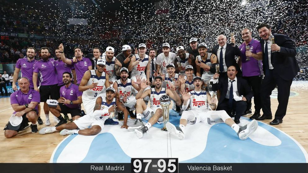 La fe de Llull lleva al Madrid a conquistar su cuarta Copa del Rey seguida