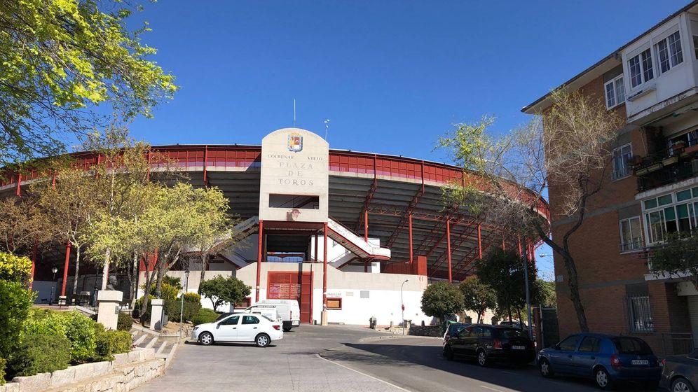 Foto: La actual plaza de toros de Colmenar Viejo. (EFE)