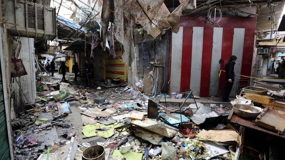 Foto: Fotografía del último atentado que sufrió Bagdad el pasado 31 de diciembre. (Reuters)