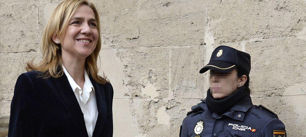 Foto: La infanta Cristina, el pasado 8 de febrero en los juzgados de Palma de Mallorca (Gtres)