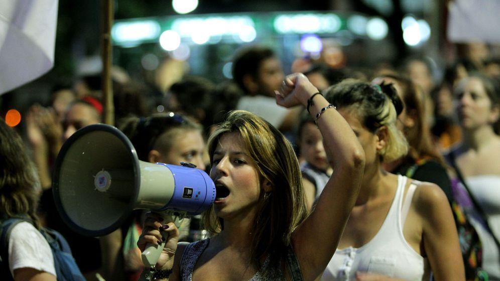 Foto: Manifestación en Uruguay contra la violencia machista. (EFE)