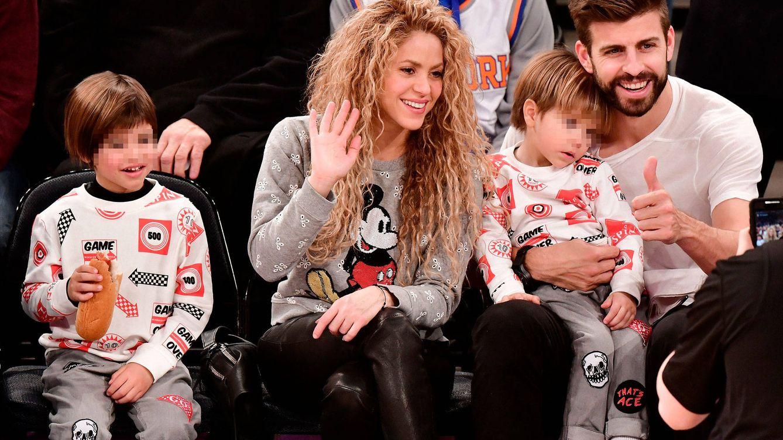 Foto: El pelo rizado siempre ha sido una de las señas de identidad más naturales de Shakira. (Getty)