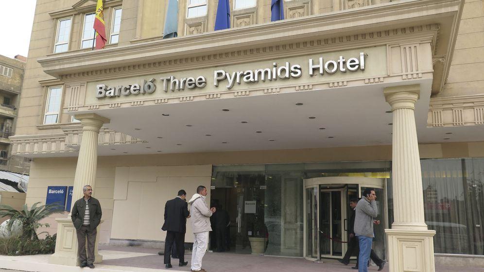 Foto: Hotel Barceló en El Cairo. (EFE)