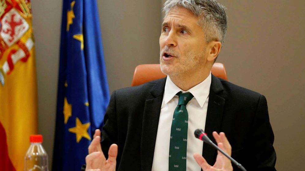 Foto: El ministro de Interior en funciones, Fernando Grande-Marlaska. (EFE)