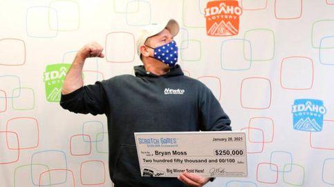 Gana la lotería por sexta vez y aún no sabe cómo lo hace (pero lo hace)