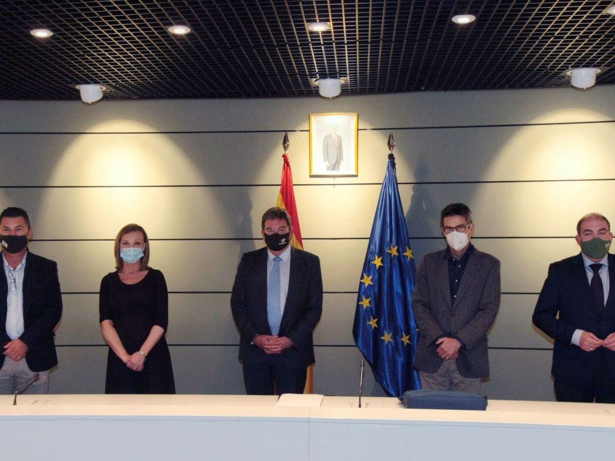 Foto: Reunión del Ministerio de la Seguridad Social con los autónomos. (Seguridad Social)
