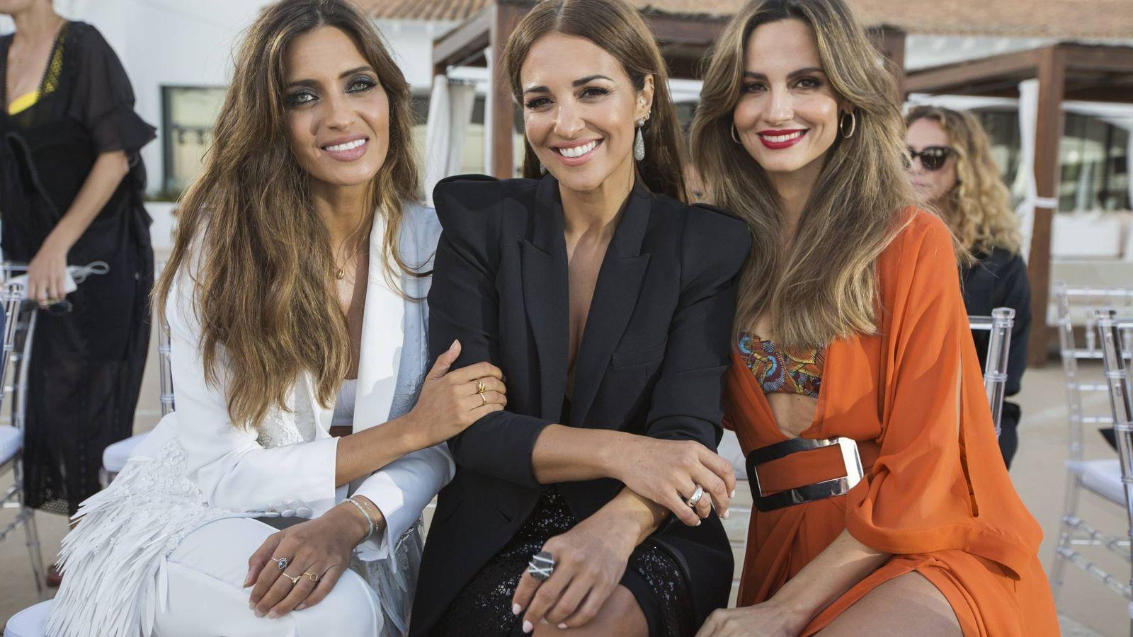 Foto: Sara Carbonero, Paula Echevarría y Ariadne Artiles. (Cordon Press)