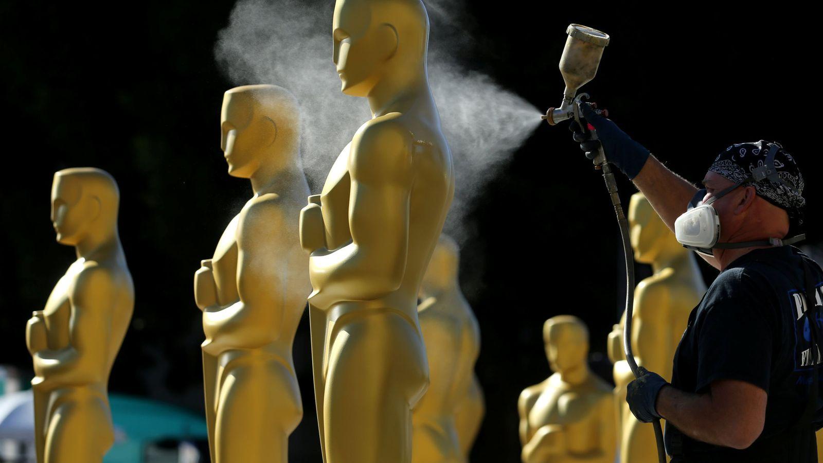 Foto: Preparativos para la gala de los Oscar